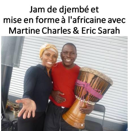Martine charles et Eric Sarah